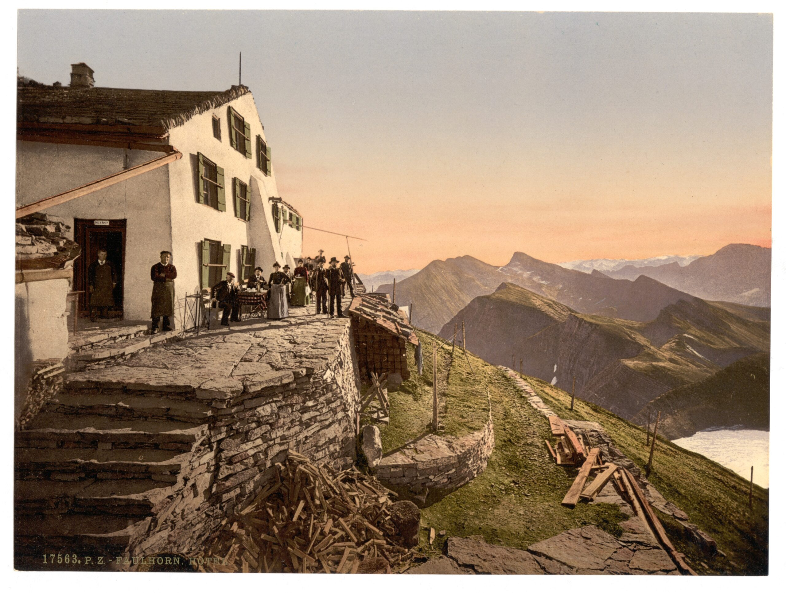 """Miriam's """"cheap room in a modest hotel"""" in Dorothy M. Richardson's """"Oberland"""" (1927)"""